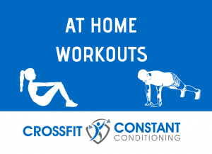 AT HOME WORKOUT MAY 17, 2020